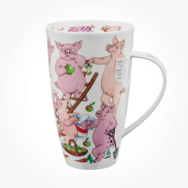 Dunoon Mugs Henley Troublemakers Pig