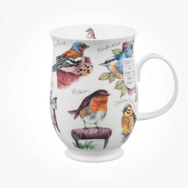 Dunoon Mugs Suffolk birdlife Robin
