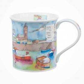 Dunoon Mugs Bute Coastal View Harbour