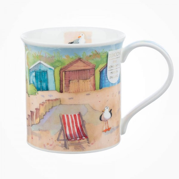 Dunoon Mugs Bute Coastal View Beach Hut