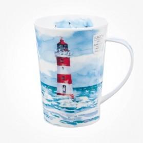 Dunoon Argyll Shape Solitude Lighthouse White Mug
