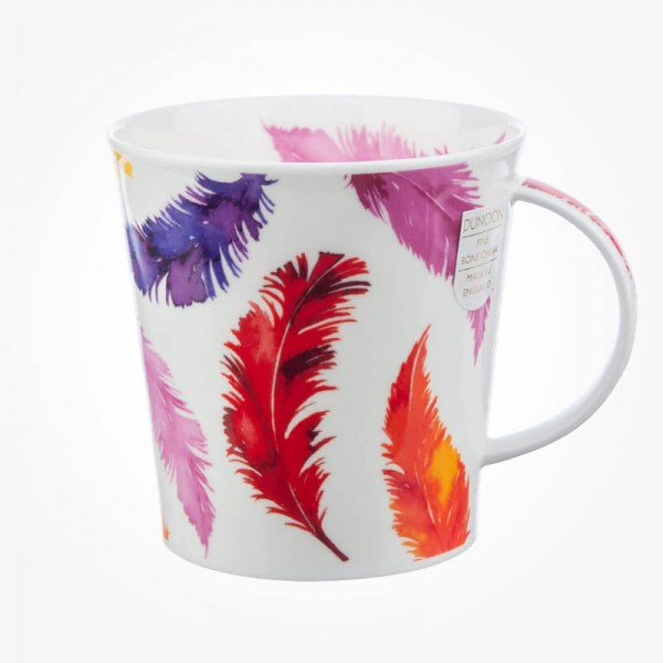Dunoon Mug Cairngorm Tickle Red