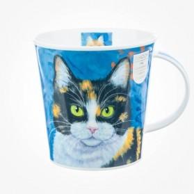 Dunoon Mug Cairngorm Gallery Cats Blue