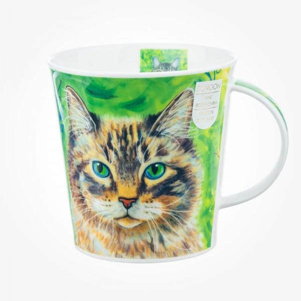 Dunoon Mug Cairngorm Gallery Cats Green