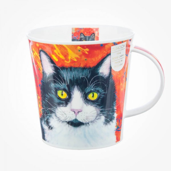 Dunoon Mug Cairngorm Gallery Cats Red
