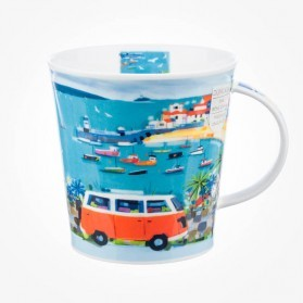 Dunoon Mug Cairngorm Bay Watch Orange