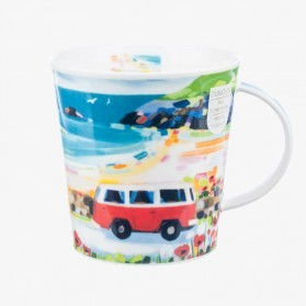 Dunoon Mug Cairngorm Bay Watch Red