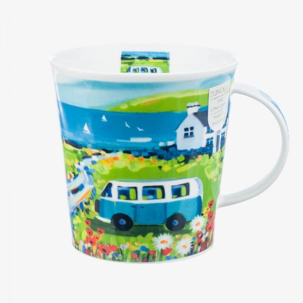 Dunoon Mug Cairngorm Bay Watch Blue