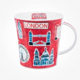 Dunoon Mug Cairngorm London Postcard