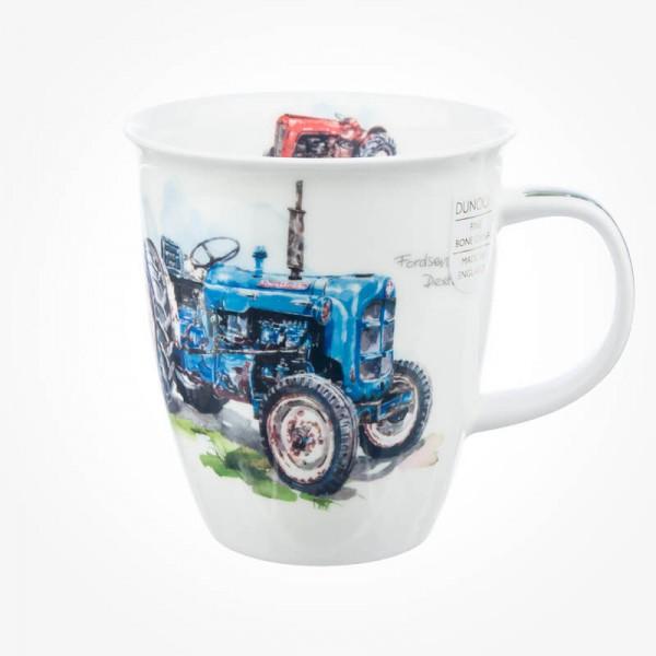 Dunoon Mug Nevis Tractor Blue