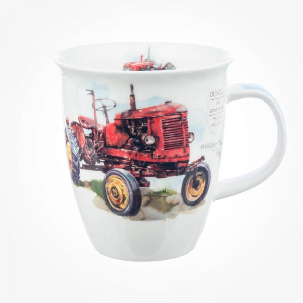 Dunoon Mug Nevis Tractor Red