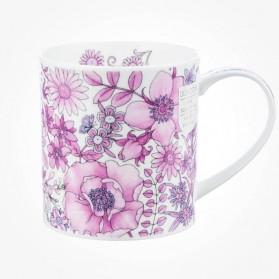 Dunoon Orkney Fleur Pink Mug
