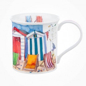 Dunoon Mugs Bute Sandy Bay Beach Huts