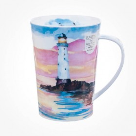 Dunoon Argyll Shape Solitude red Mug