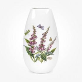 Botanic Garden 10 inch Tulip Vase Foxglove