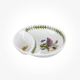 Botanic Garden Divided Dish New 6 inch gift box