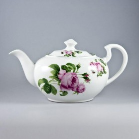 English Rose Teapot 40 Oz