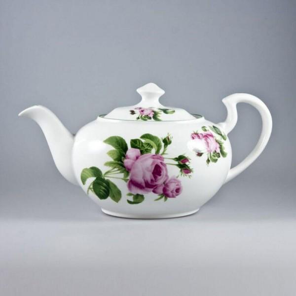English Rose Teapot 40 Oz