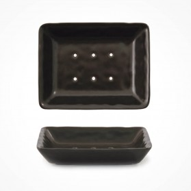 Porcelain Soap Dish Black