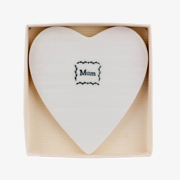 Porcelain Coaster Mum Gift Box
