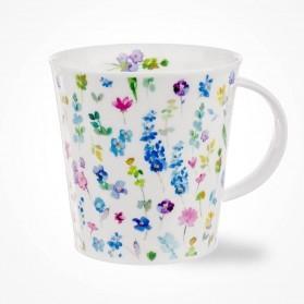 Dunoon Cairngorm Belles Fleurs Blue
