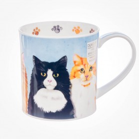 Dunoon Mug Orkney Furry Friends cats
