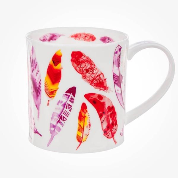 Dunoon Mug Orkney Pluma Red