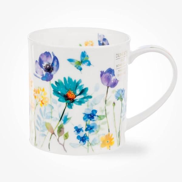 Dunoon Orkney Floral Shimmer Blue