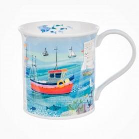 Dunoon Mugs Bute Shore Life Fish Boat