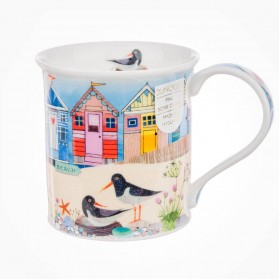 Dunoon Mugs Bute Shore Life Beach Huts
