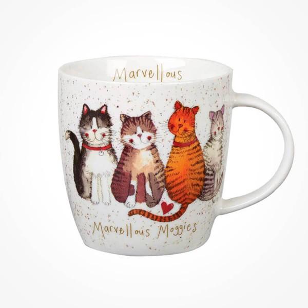 Alex Clark Marvelous Moggies Mug