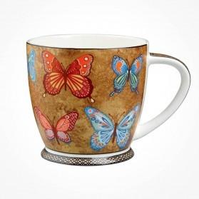 Hidden World Golden Monarch Mug