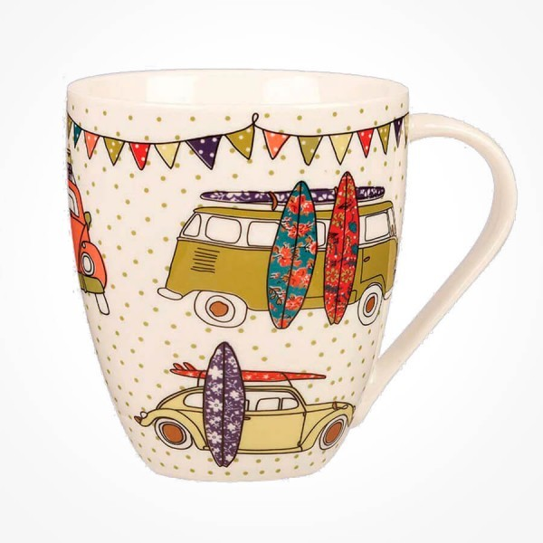 Caravan Trail Festival Surf Crush Mug