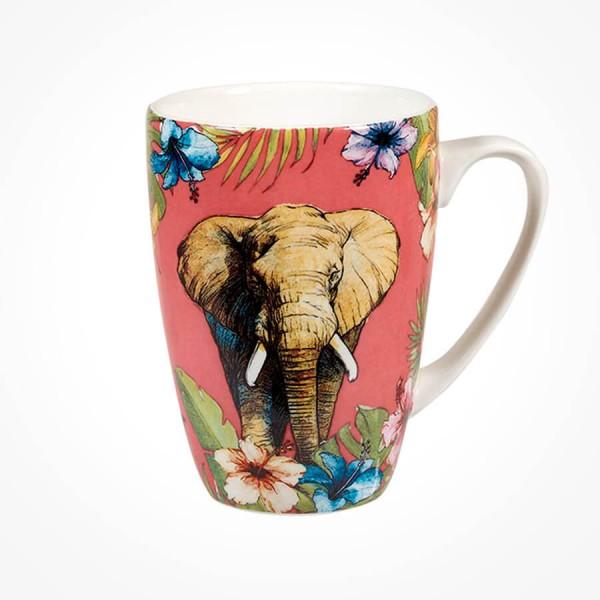 Reignforest Elephant Rowan Mug