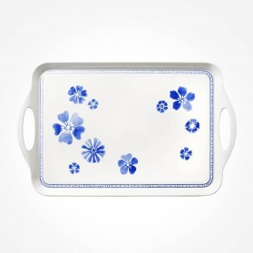 Farmhouse Touch Blueflowers Kitchen Tray