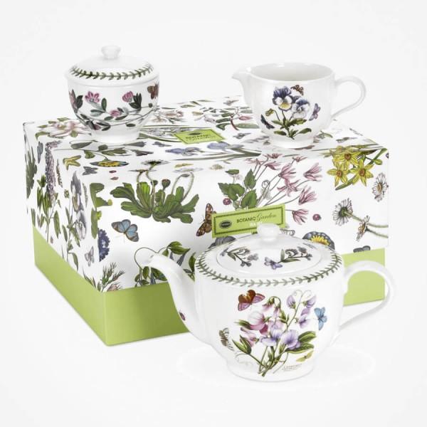 portmeirion Botanic Garden Tea Set Giftbox