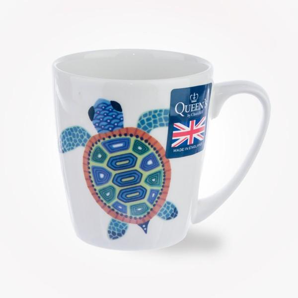 Paradise Fish Sea Turtle Acorn Mug