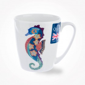 Paradise Fish Sea Horse Acorn Mug