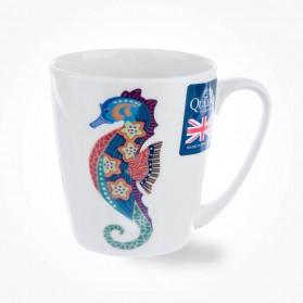 Paradise Fish Seahorse Acorn Mug