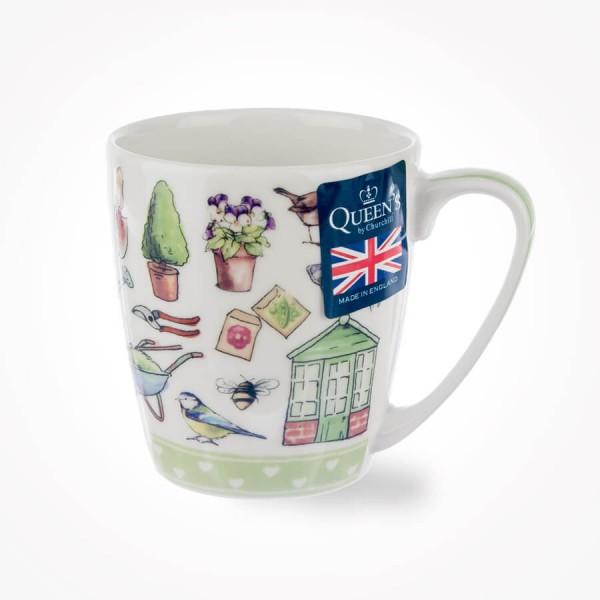 Living the Dream Garden Life Acorn Mug