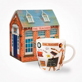Churchill At Your Leisure The Teacher Mug in Gift Box