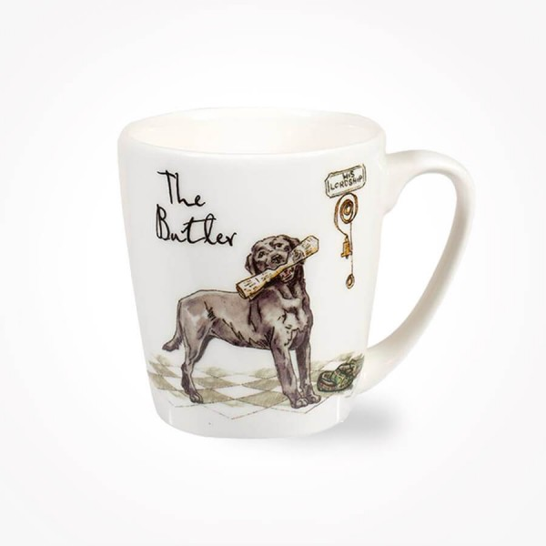 Country Pursuits The Butler Acorn Mug