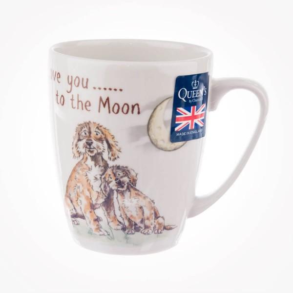 Ray of Sunshine Love You To The Moon Oak Mug