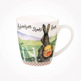 Alex Clark Adventure Starts Here Sparkle Mug