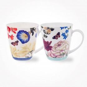Butterflies and Blooms Cherry Asst Mugs