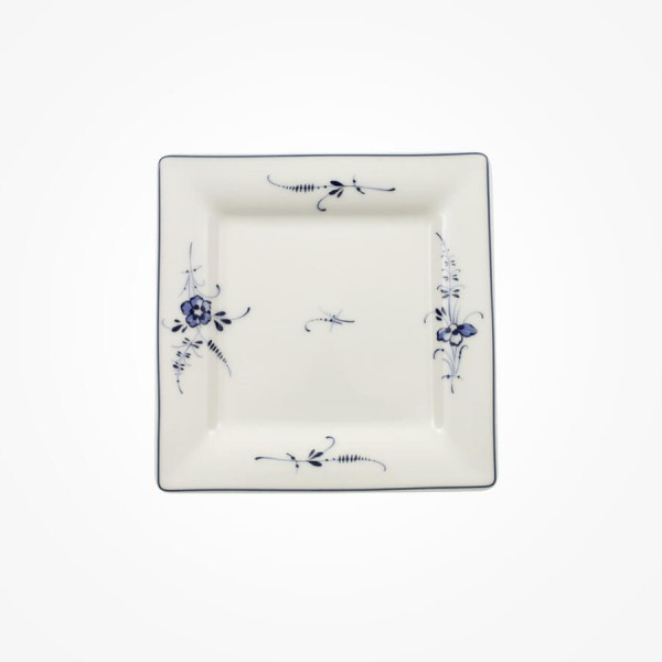Old Luxembourg small plate saucer coffee cup square