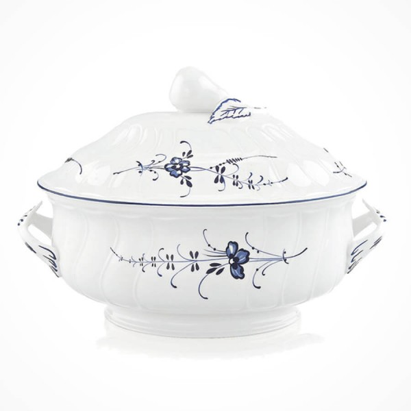 Old Luxembourg Oval Soup Tureen