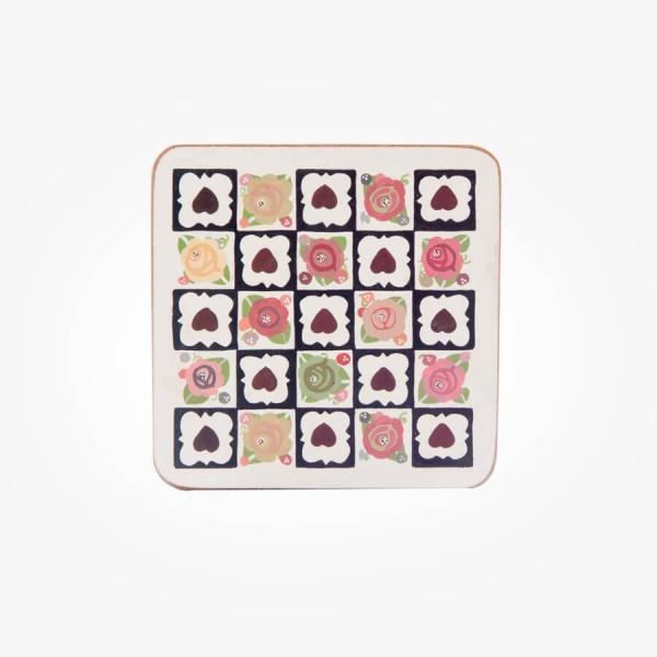 Julie Dodsworth Chocolate Box Coaster 4 PCE SET