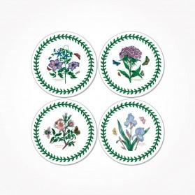 Botanic Garden Pimpernel Round Coasters Set of 4