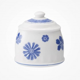 Farmhouse Touch Blueflowers Sugar jampot 6 pers